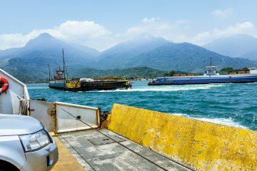 Viagem de Kawasaki Versys para Ilhabela (SP)