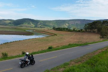 Viagem de Versys pelos caminhos do sul de Minas